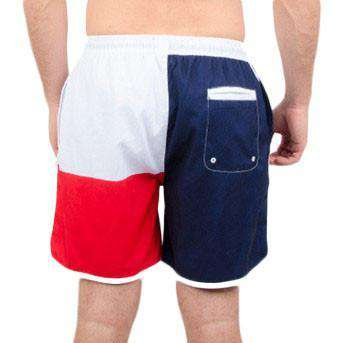 Republics Swim Trunks in Red, White, and Blue by Rowdy Gentleman - FINAL SALE