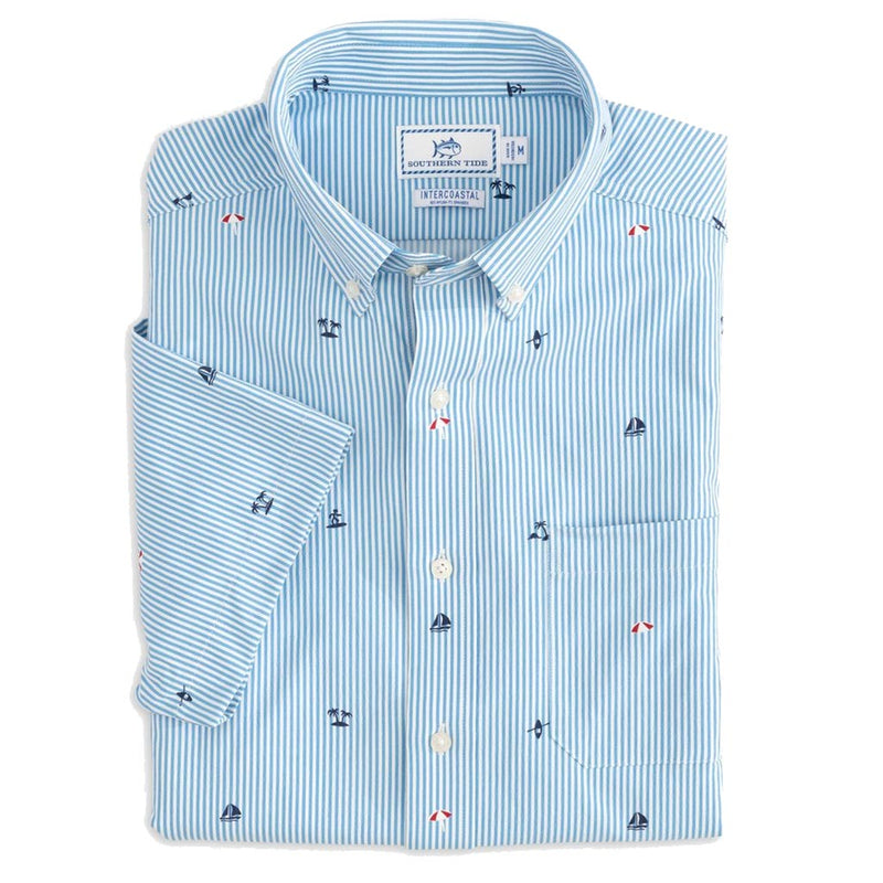 Resort Intercoastal Performance Sport Shirt by Southern Tide