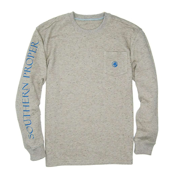 Rutt Crew Neck in Sand by Southern Proper