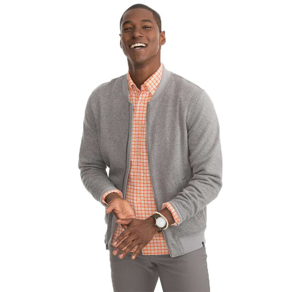 Southern Tide Samson Peak Sweater Fleece Bomber Jacket by Southern Tide