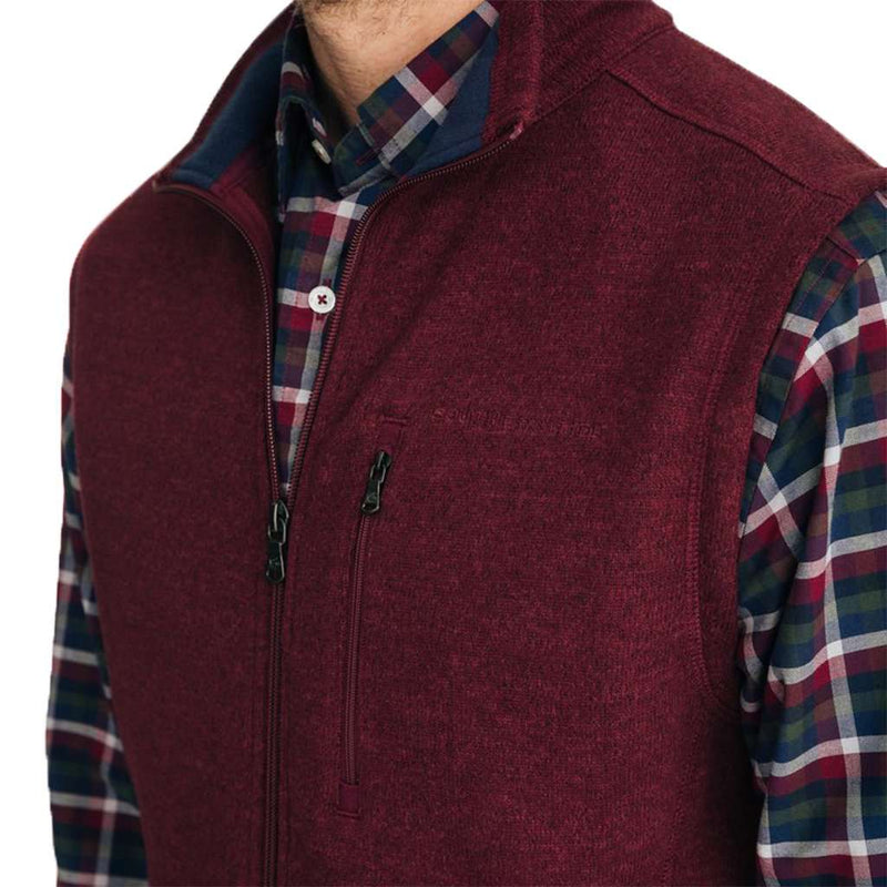 Southern Tide Samson Peak Sweater Fleece Vest by Southern Tide