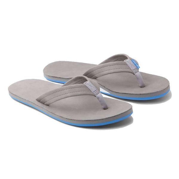 6ac45f33d39c Men s Preppy Sandals  Ribbon   Leather Boat Sandals – Country Club Prep