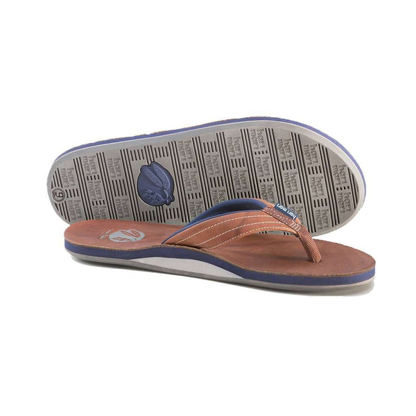 Men's Nokona Flip Flop in Walnut by Hari Mari