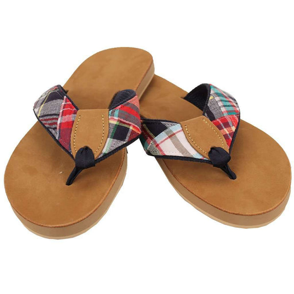 Sandals - Men's Traditional Madras Sandal By Eliza B.