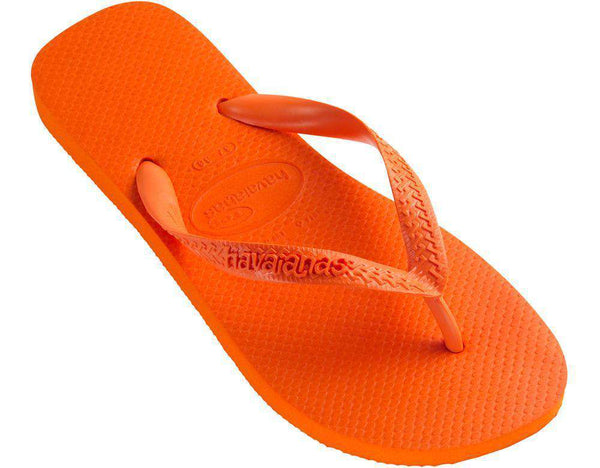 Sandals - Top Sandals In Tangerine By Havaianas - FINAL SALE