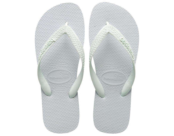 Top Sandals in White by Havaianas - FINAL SALE