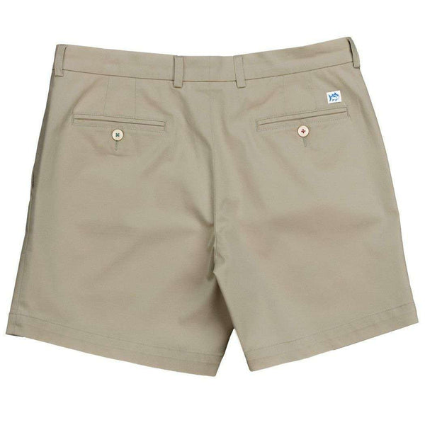 "Channel Marker Classic 7"" Summer Short in Sandstone Khaki by Southern Tide  - 2"