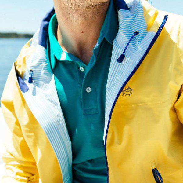 Santee Rain Slick in Yellow by Southern Tide - FINAL SALE