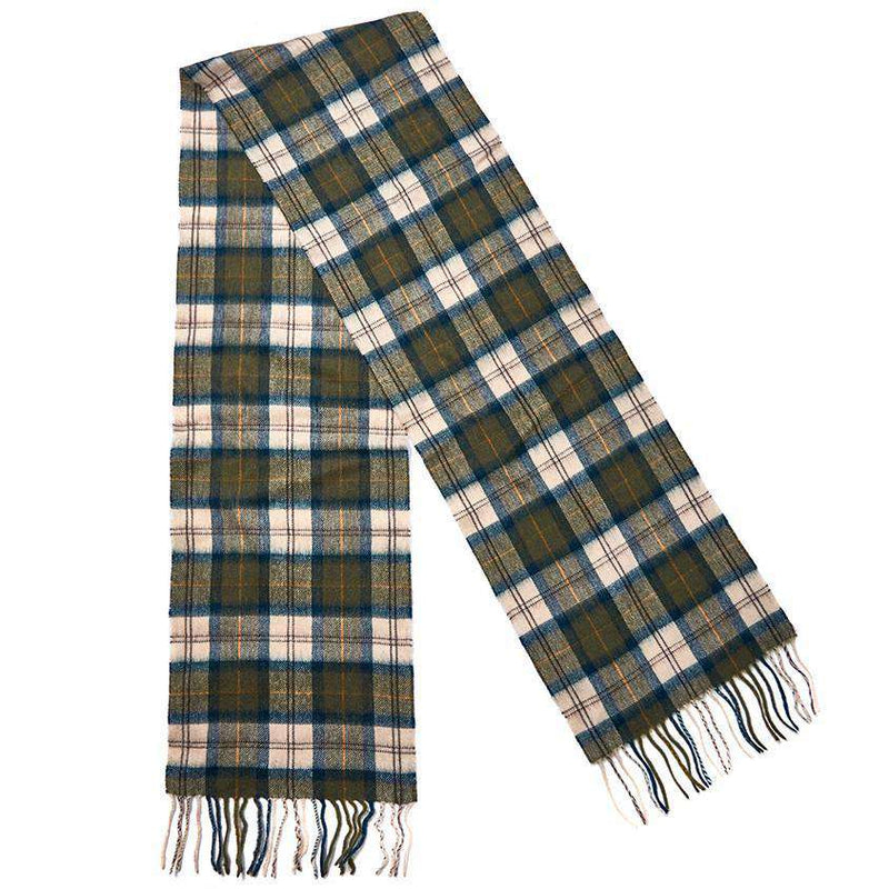 Scarf and Gloves Gift Box in Ancient Tartan by Barbour - FINAL SALE