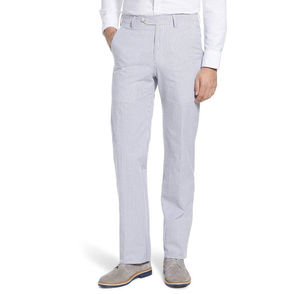 Derby Blue Seersucker Pants by Country Club Prep