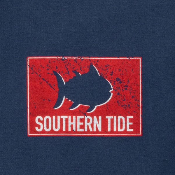 Long Sleeve Shark Flag Tee Shirt by Southern Tide