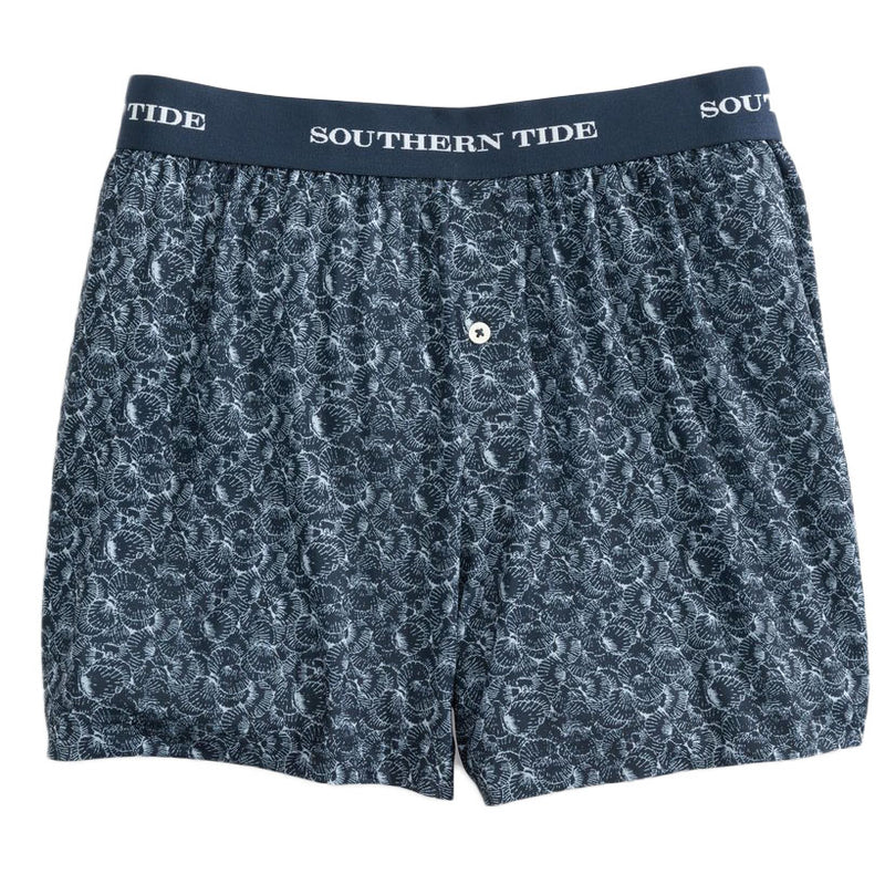 Shell Printed Performance Boxer by Southern Tide