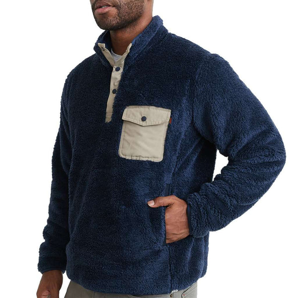 Marine Layer Re-Spun Sherpa Corbet by Marine Layer