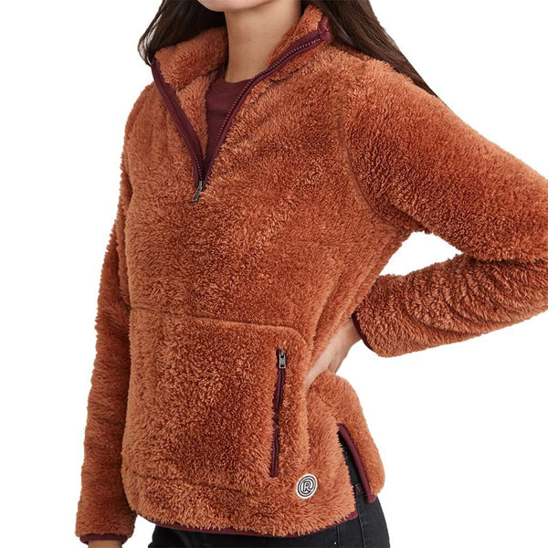 Marine Layer Women's Re-Spun Sherpa Corbet by Marine Layer