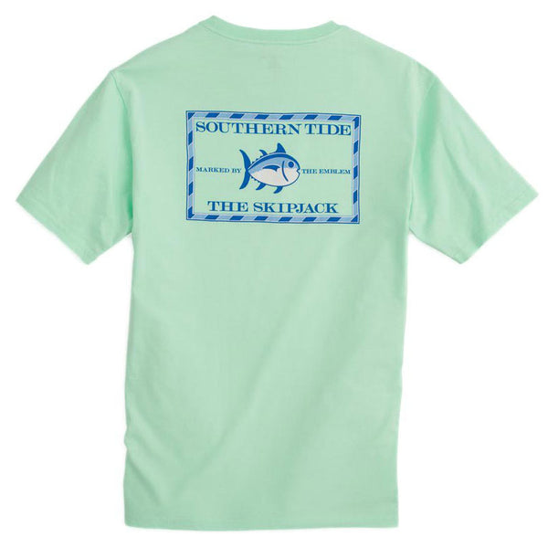 Original Skipjack Tee Shirt in Offshore Green by Southern Tide
