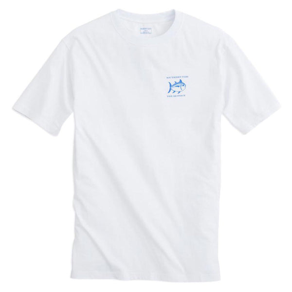 Original Skipjack Tee Shirt in White by Southern Tide