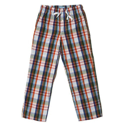 Shorts - Lounge Pants In Coatue Madras By Castaway Clothing