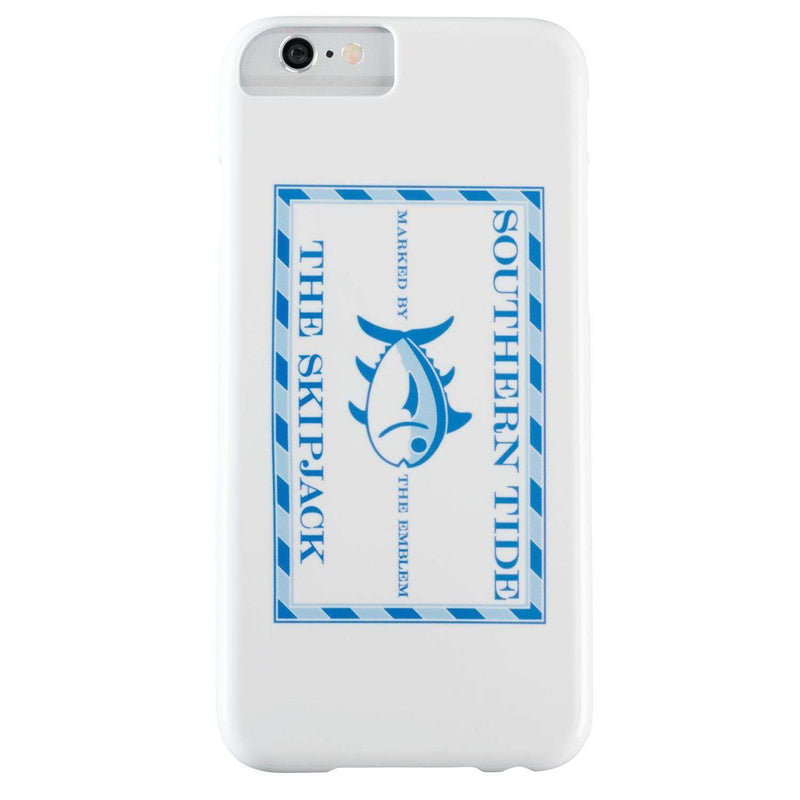 Original Skipjack iPhone 6/6s Case in White by Southern Tide - FINAL SALE