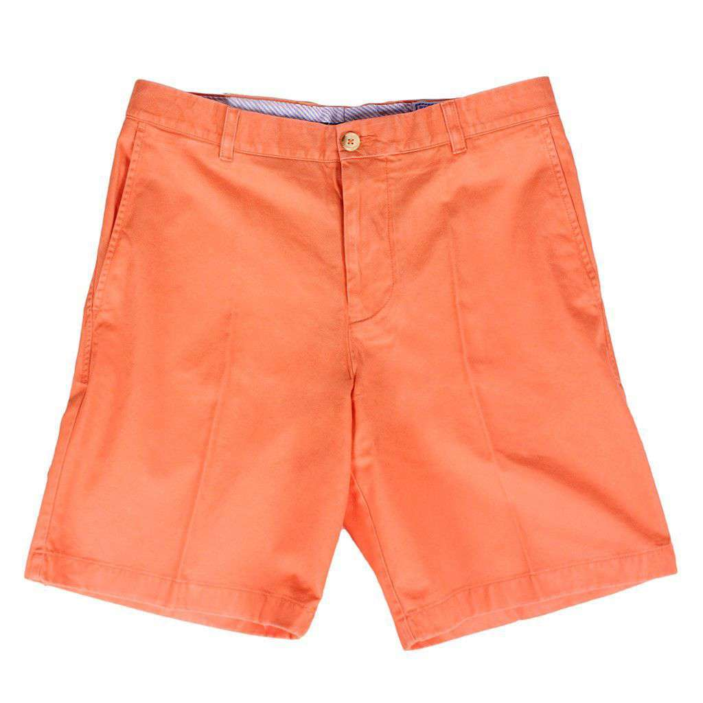 "The 9"" Skipjack Short in Fusion Coral by Southern Tide  - 1"