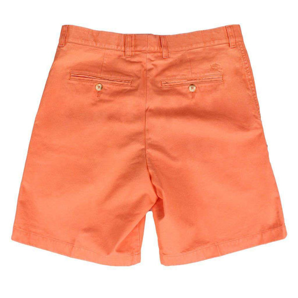 "The 9"" Skipjack Short in Fusion Coral by Southern Tide  - 2"