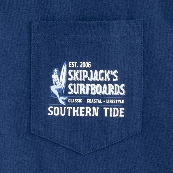 Skipjack's Surfboards Tee Shirt by Southern Tide