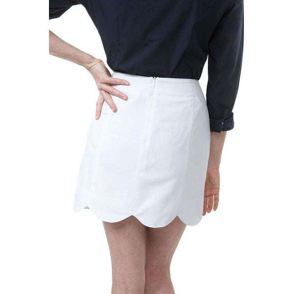 Dessie Skirt in White by Southern Proper - FINAL SALE