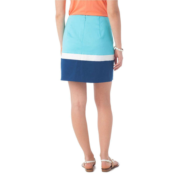 Reese Skirt in Crystal Blue by Southern TIde