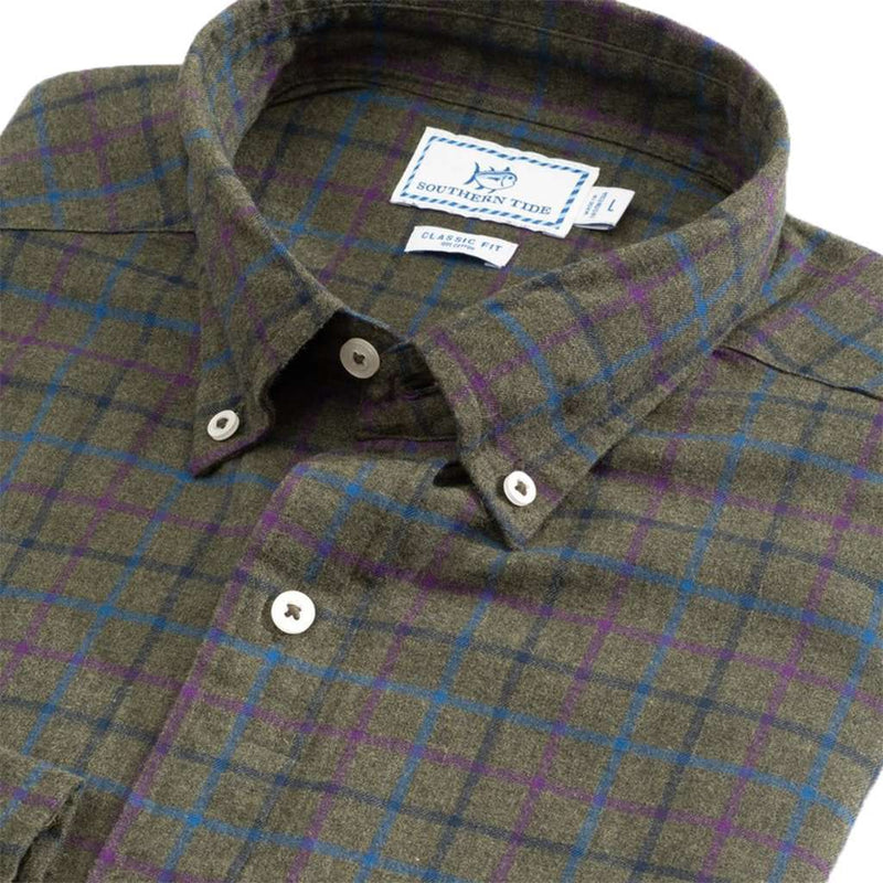 Southern Tide Skysail Plaid Sport Shirt by Southern Tide