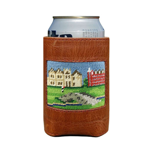 St Andrews Scene Needlepoint Can Holder by Smathers & Branson
