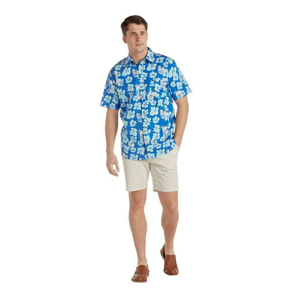 Southern Proper Boozy Magnolia Social Shirt by Southern Proper