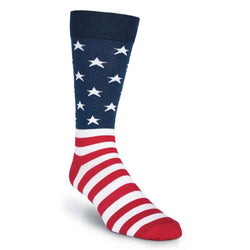 Men's Flag Socks by K. Bell Socks - FINAL SALE