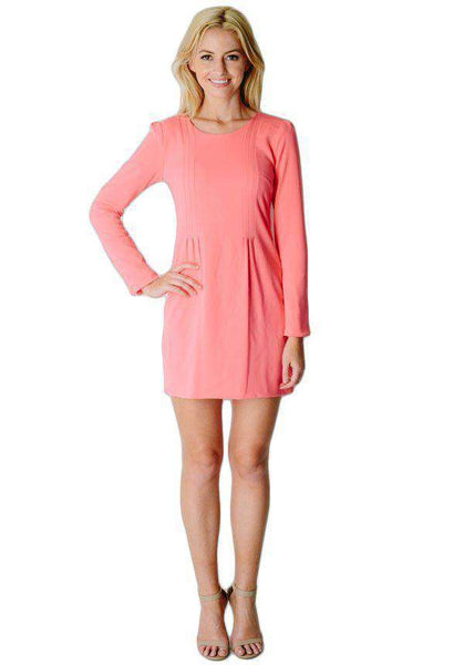 Sophia Dress in Coral by Camilyn Beth  - 1