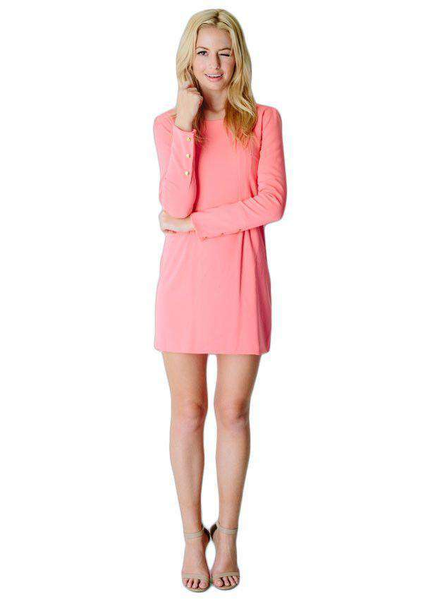 Sophia Dress in Coral by Camilyn Beth  - 2