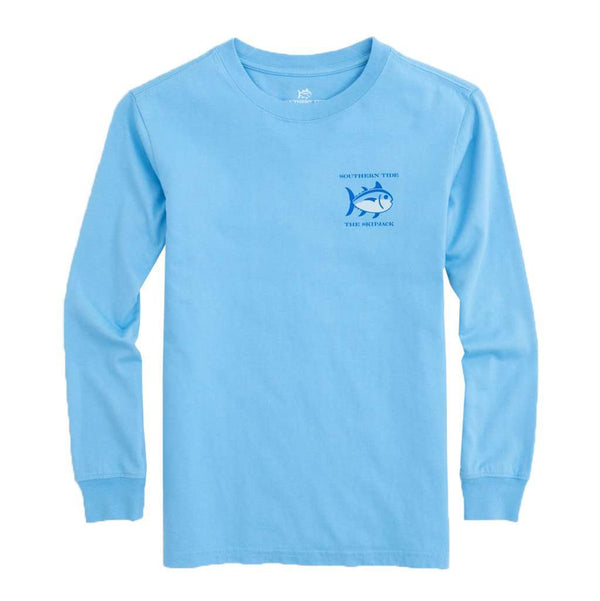 Southern Tide Kids Long Sleeve Original Skipjack T-Shirt by Southern Tide