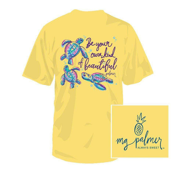 Southern Fried Cotton BeYOUtful Youth Tee in Banana
