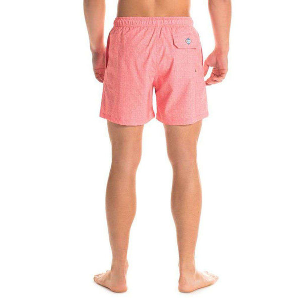 Bermuda Swim Trunks in Basketcase by The Southern Shirt Co.. - FINAL SALE