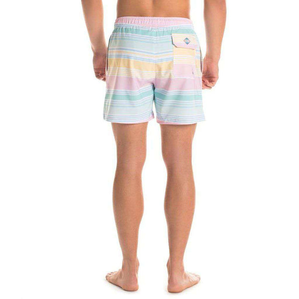 Bermuda Swim Trunks in Neapolitan by The Southern Shirt Co.. - FINAL SALE