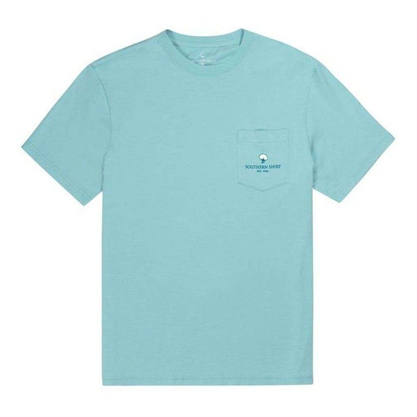Catamaran SS in Chalky Blue by The Southern Shirt Co.. - FINAL SALE