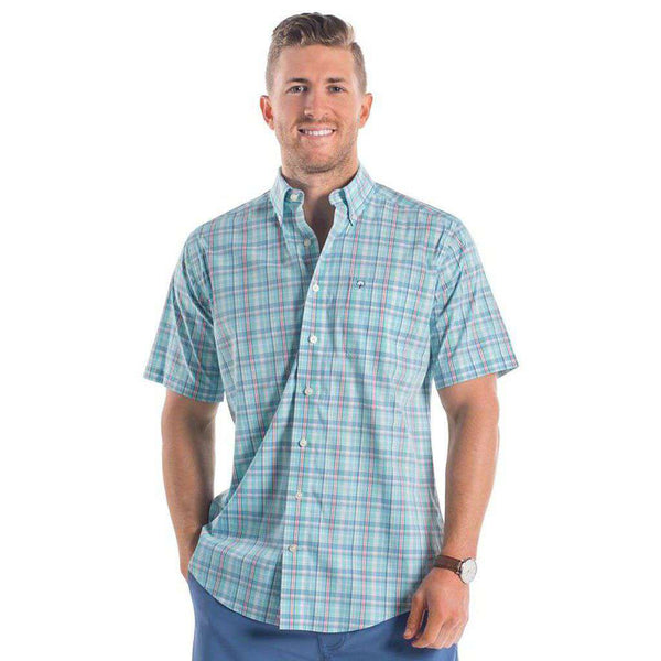 Dockside Plaid in Marlin by The Southern Shirt Co.. - FINAL SALE