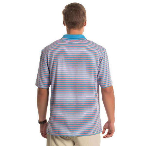 Jupiter Stripe Polo in Cabana by The Southern Shirt Co.. - FINAL SALE