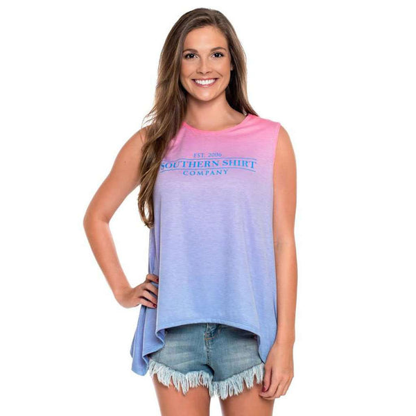 Southern Shirt Co. Ombre Swing Tank in Tropical Breeze