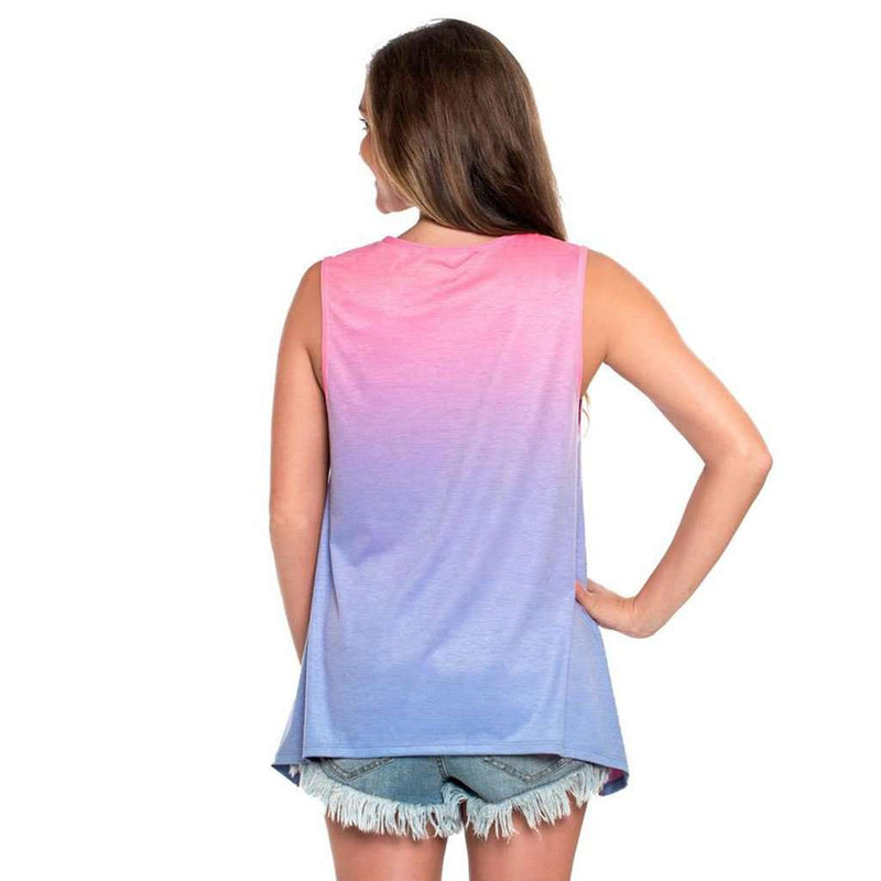 Ombre Swing Tank in Tropical Breeze by The Southern Shirt Co.
