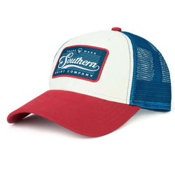 430f69abc2c Southern Shirt Co. Patch Trucker Hat in American Beauty – Country ...
