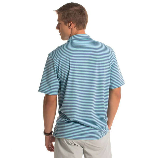Perdido Stripe Polo in Barnacle by The Southern Shirt Co.. - FINAL SALE
