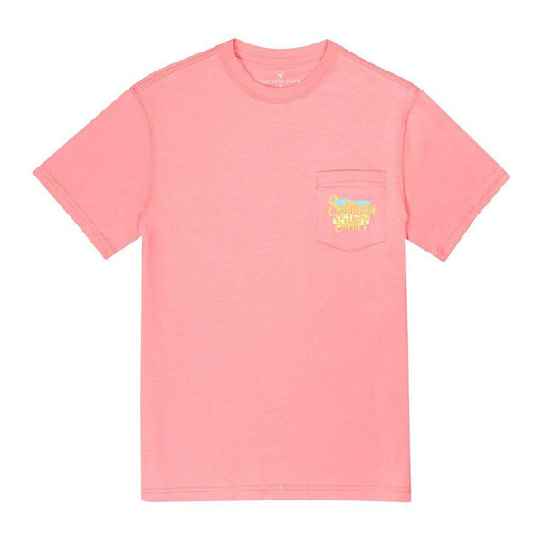 The Southern Shirt Co. Poppy Pineapple SS in Flamingo Pink by The Southern Shirt Co..