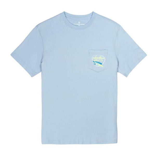 Skiff Life SS in Chambray Blue by The Southern Shirt Co.. - FINAL SALE