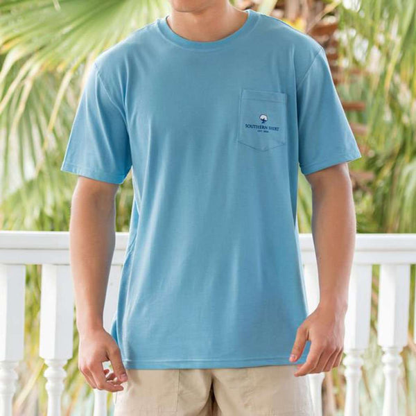 Tarpon Cove SS in Alaskan Blue by The Southern Shirt Co.. - FINAL SALE