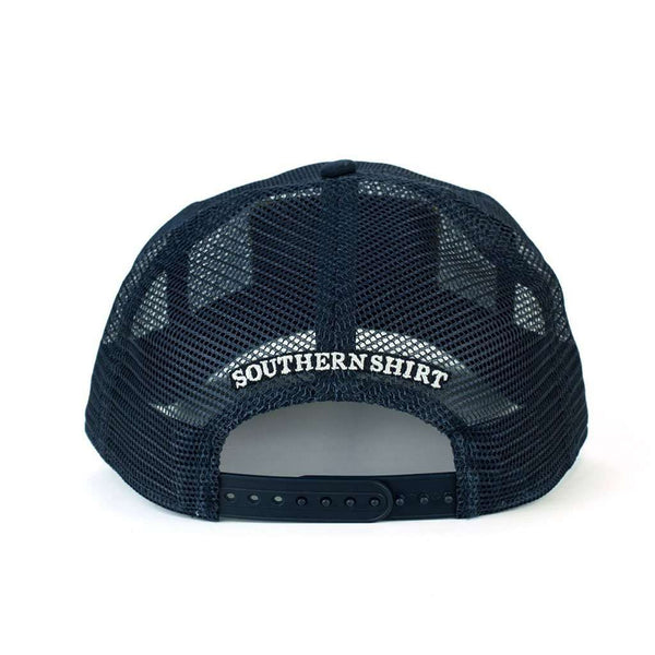 USA All Mesh Hat in Patriotic Navy by The Southern Shirt Co. - FINAL SALE