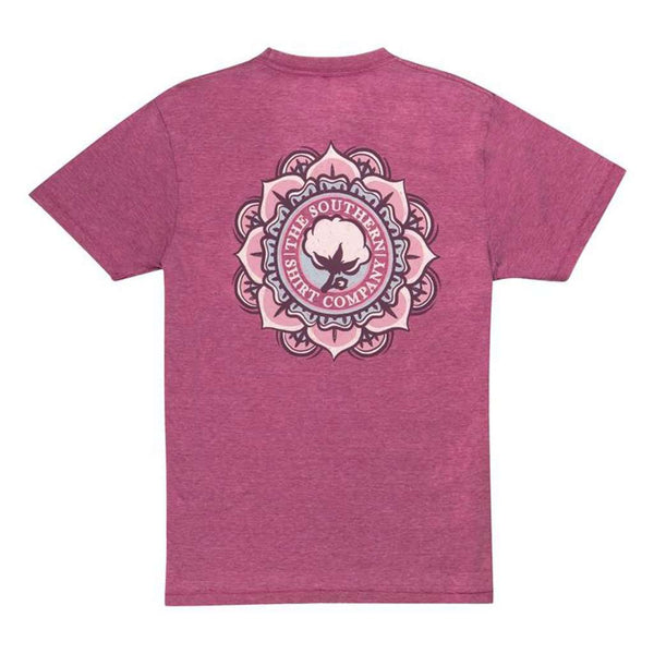 Vintage Burnout Tee in Festival Fuchsia by The Southern Shirt Co.. - FINAL SALE
