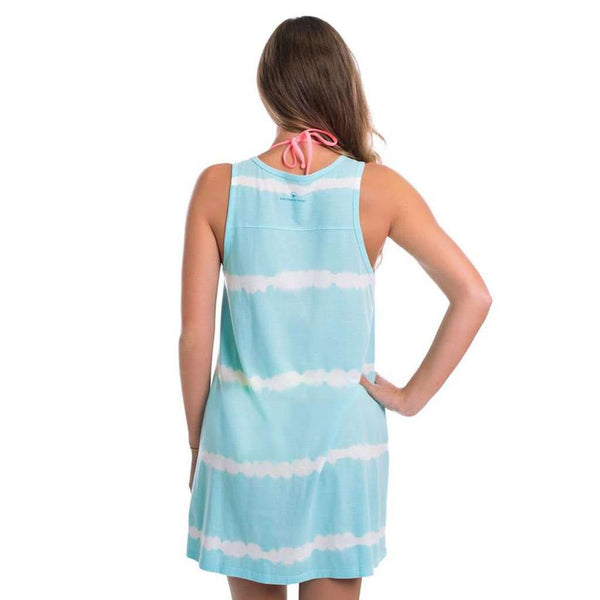 Southern Shirt Co. Vitamin Sea Tunic Tank in Aqua Splash
